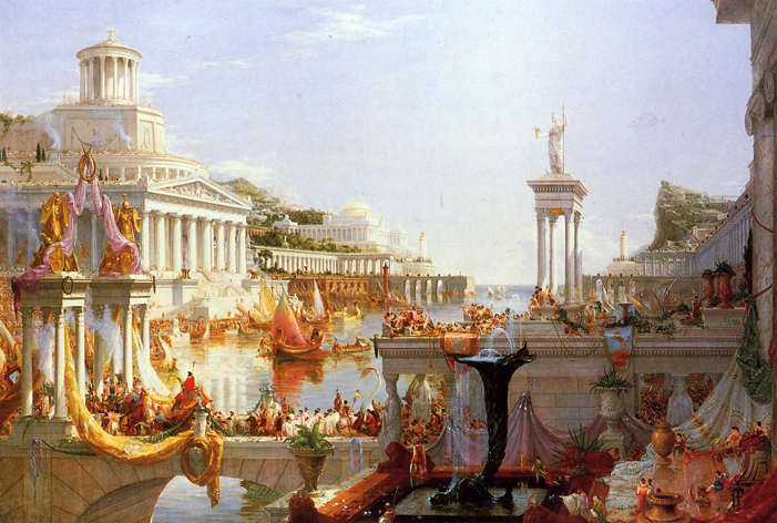 """'The Course of Empire: The Consummation of Empire' by Thomas Cole"""